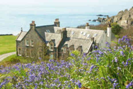 Knockinaam Lodge - Michelin Starred Scottish Escape for Two with Champagne - Save 30%