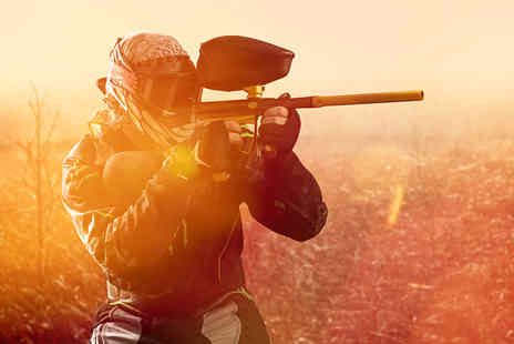 Nationwide Paintball -  Day of paintballing for up to Five in a choice of over 60 locations - Save 93%