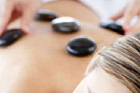 Nail & Beauty Place - 45 Minute Hot Stone Massage and 30 Minute Facial - Save 65%