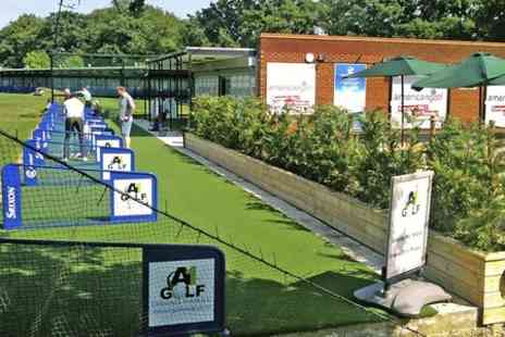 A1 Golf Centre - 100 Driving Range Balls For One  - Save 44%