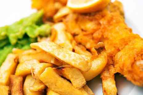 The View - Fish and Chips With a Drink For Two - Save 50%