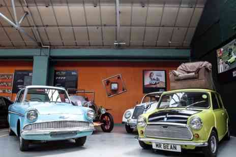 London Motor Museum -  Half Term Entry to London Motor Museum Plus Cadillac Burger - Save 30%