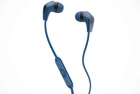 Skullcandy - Skullcandy 50/50 In Ear Headphones in Royal Blue - Save 44%