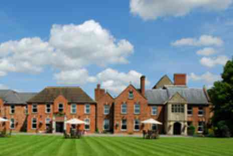 Hatherley Manor - An Overnight Stay for 2 including a 3 course dinner, bottle of Prosecco and breakfast - Save 55%