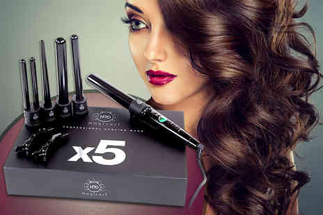 H2D - 5 in 1 Magicurl X5 hair curler  - Save 54%
