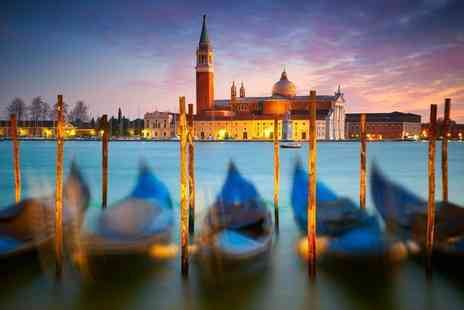 iFly Holidays - Two night Venice break including flights, breakfast and gondola ride or sailing tour - Save 21%