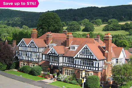 Colwall Park - A Hotel Well Situated for the Delights of Worcestershire - Save 51%