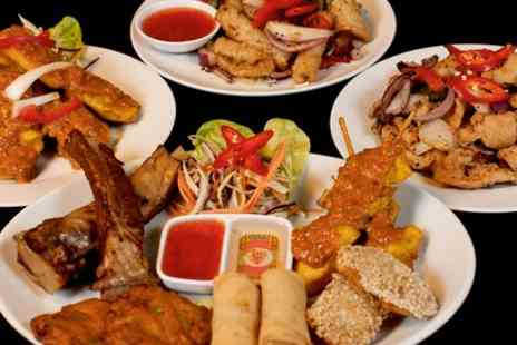 Lemongrass Thai Restaurant -  Two Course Takeaway Meal For Two  - Save 51%