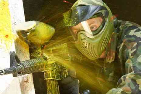 Skirmish Paintball & Laser Games - Skirmish Paintball: Entry Plus Portion of Chips for Ten  - Save 0%