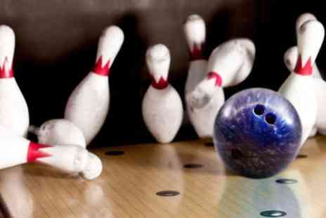 Bears Boutique Bowling - Sharing Platter, Soft Drink and Two Games of Bowling For Four  - Save 0%