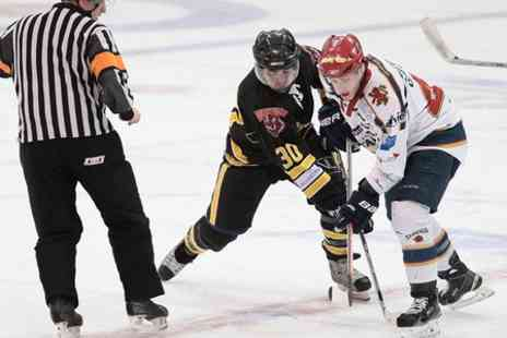 Dundee Tigers - Tickets to Dundee Tigers v Kilmarnock Storm or North Ayrshire Wild Ice Hockey Game  - Save 50%