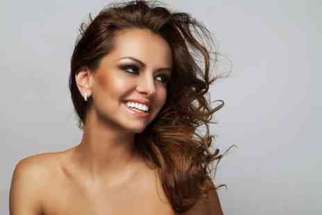 Glow N Glamour - Half head of highlights cut and blow dry with a senior stylist  - Save 79%
