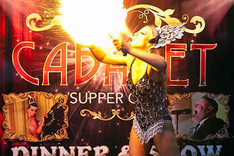 Cabaret Supper Club - Sunday Brunch with Entertainment for Two with Glass of Prosecco Each - Save 57%