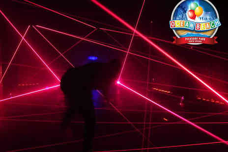 Laser Maze - One Hour Laser Maze Party for Ten with Party Bags and Juice - Save 50%