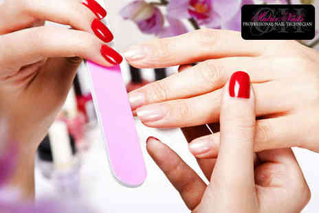 Matrix Nails - Manicure with Gellux Gel Polish on Fingers or Toes - Save 52%