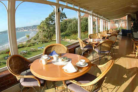 Grand Hotel Swanage - Main Course and Choice of Starter or Dessert Each for Two - Save 62%