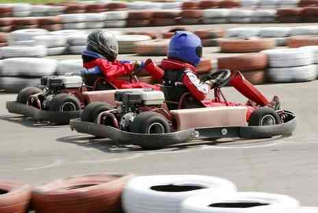 Lakeside & Brentwood Karting - 15 minute karting session for one - Save 50%