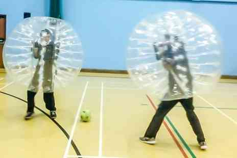 Gang Warily Recreation Centre - One Hour Football Zorbing Session For Ten  - Save 50%