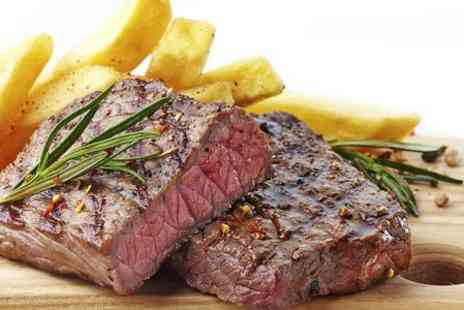 The Crown  - Two Course Steak Meal With Wine or Beer For Two - Save 55%