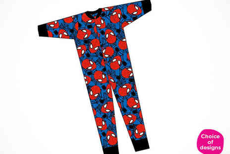 Fancy Suits - Unisex Childrens Onesie in Choice of Cartoon Prints - Save 0%