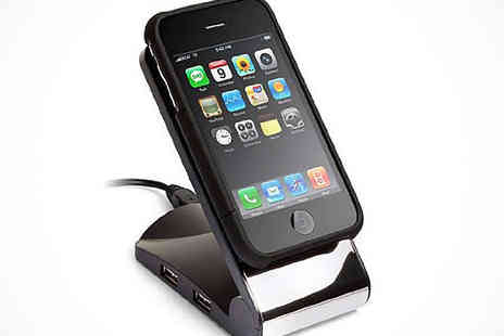 Mobileheads - Phone Stand with 4 USB Charging Ports and 2 SD Card Slots - Save 70%