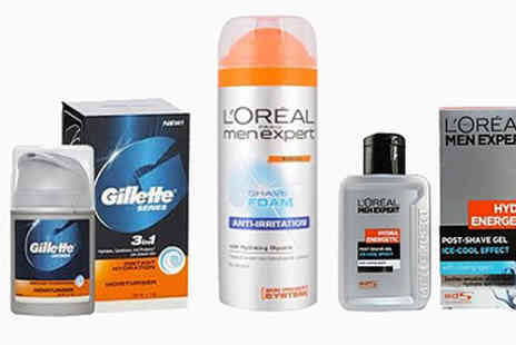 Look N Style  - LOreal and Gillette 3 Pc Skincare Set - Save 75%