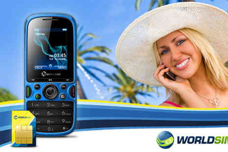 World Sim - Travel Genie International Mobile Phone - Save 51%