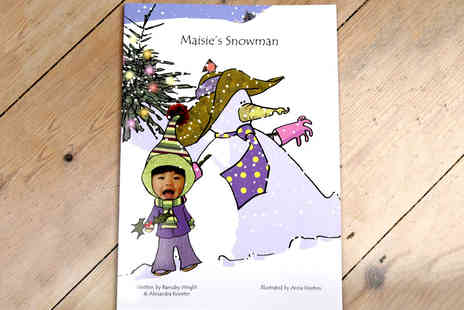 its your story - A Personalised Snowman Book and E Story  - Save 49%