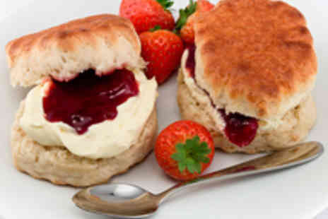 Halls Croft Cafe - Shakespeare Sparkling Afternoon Tea for Two - Save 48%