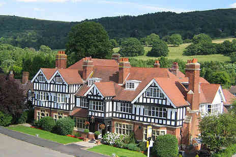 Colwall Park - One Night Malvern Hills Hotel Break for Two with Breakfast - Save 51%