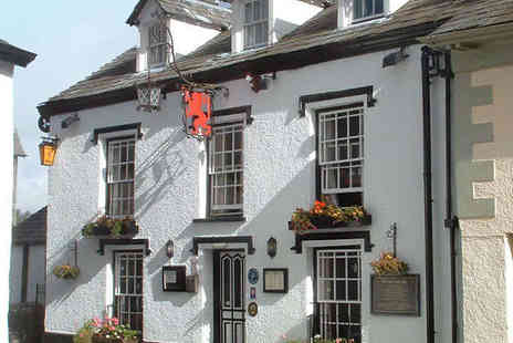 The Red Lion Inn Hawkshead - One Night Lake District Break for Two with Breakfast - Save 57%