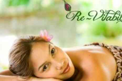 Re Vitability - Full Body Massage and Mineral Salt Exfoliation - Save 63%