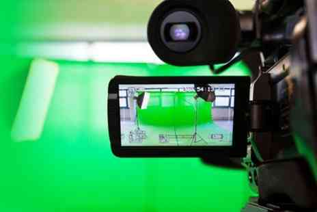 Picture Blast Studios - Two Hour Green Screen Recording Studio Hire Plus Video Production and DVD  - Save 80%
