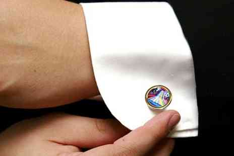 Instajunction - Personalised Photo Cufflinks  - Save 52%
