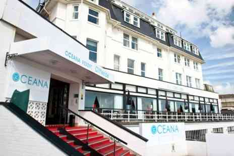 The Cliffeside Bournemouth  - One Night Stay For 2 With Breakfast, Dinner and Spa Access - Save 0%