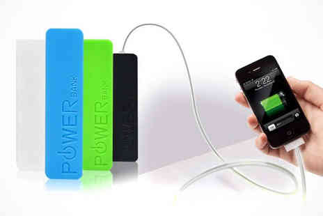 Recharge able - Keyring Power Bank Battery, Delivery Included - Save 77%