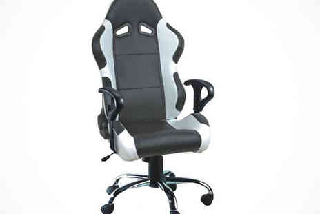 Turborevs - Racing Bucket Seat Office Chair - Save 36%