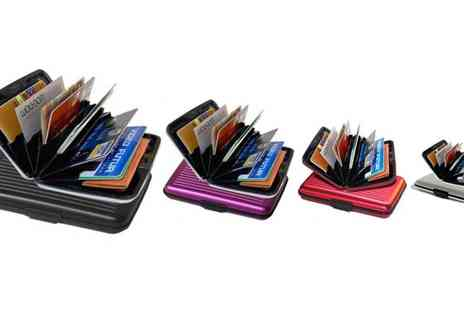 E accessories - One Coloured Aluminium Wallets - Save 50%