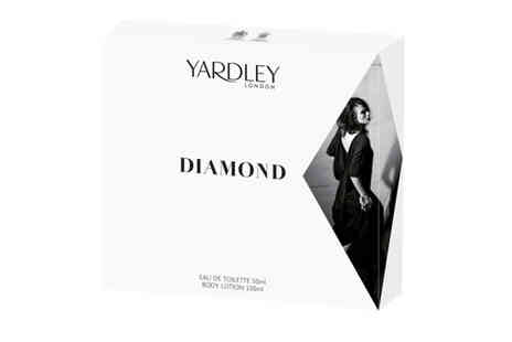 Yardleys - Diamond Eau De Toilette and Body Lotion - Save 33%