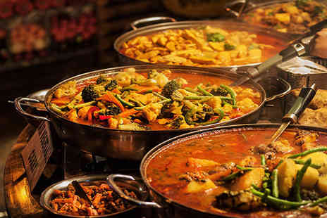 Bollywood Spice - Three course Indian buffet for one - Save 44%