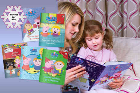 Pen Wizard - Personalised Peppa Pig childrens softback book - Save 47%