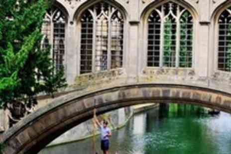 Cambridge Punting Tours - Guided Punting Tour For Two - Save 73%