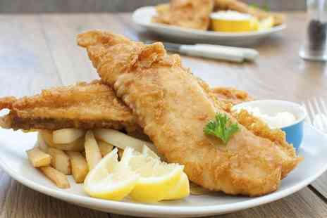 The Almighty Cod - Fish and Chips Meal For Two - Save 42%