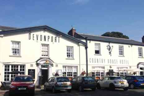 The Devonport Hotel - One Night Stay For Two With Dinner - Save 0%
