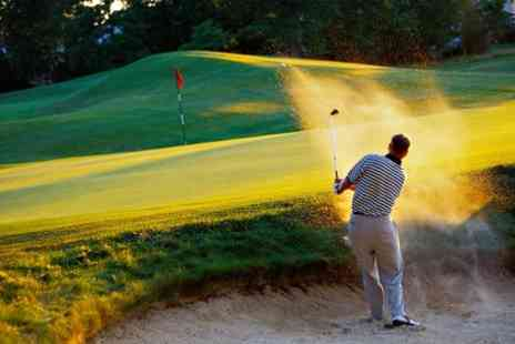 Mansfield Golf Club - 18 Holes, Range Balls and Coffee For Two - Save 62%