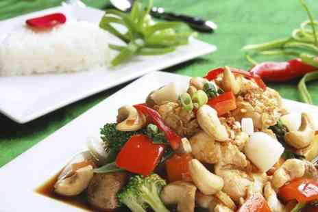 Crown Buffet - All You Can Eat Chinese Meal With Wine For Two  - Save 50%
