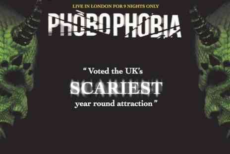 The London Bridge Experience - One Standard Ticket  to Phobophobia - Save 50%