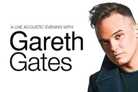 Live Nation - Ticket  to Gareth Gates Live - Save 43%