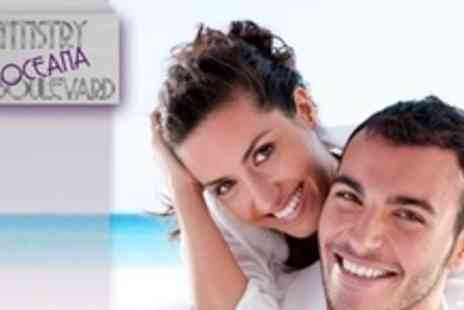 Dentistry @ Oceana Boulevard - Ultrasonic Stain Removal and Polish Plus Full Dental Examination - Save 73%
