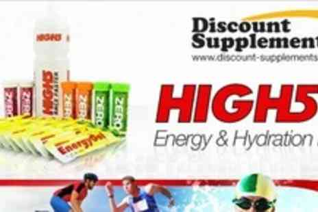 Discount Supplements - High 5 Energy and Hydration Pack - Save 53%